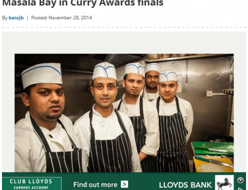 Masala Bay in Curry Awards Finals